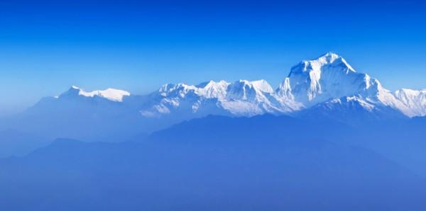 Magnettafel Pinnwand Bild XXL Panorama Bergspitze Gipfel Himmel