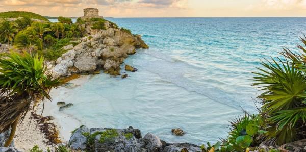 Magnettafel Pinnwand Bild XXL Panorama Mexiko Maya Ruinen