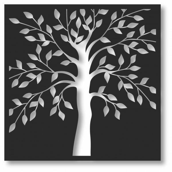 Bild Wandbild 3D Wandtattoo Acryl Mobile Cut-Out Baum