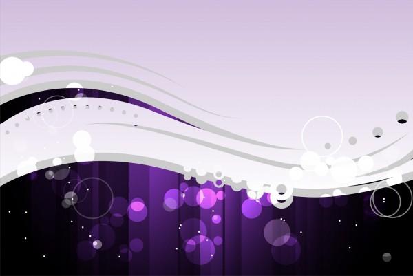 Magnettafel Pinnwand XXL Bild Muster Wellen lila violett