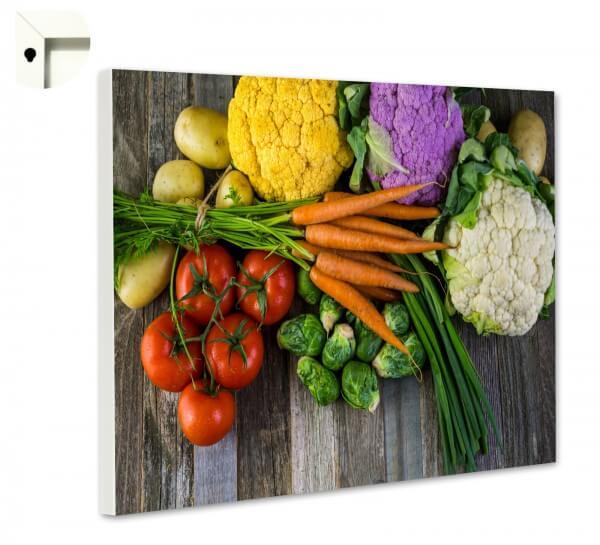 Magnettafel Pinnwand Küche Veggie Love