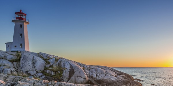 Magnettafel Pinnwand Bild XXL Panorama Leuchtturm Kanada