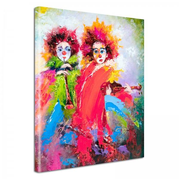 Leinwandbild Gemälde Pepito & Peppi