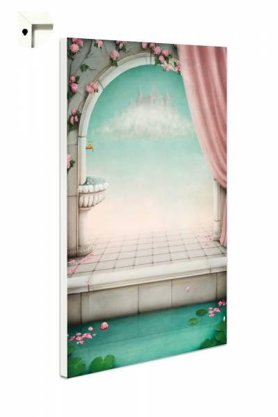 Magnettafel Pinnwand Fantasy Wolkenschloss