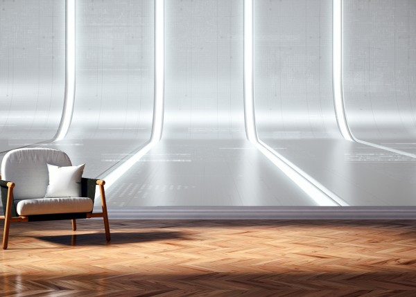 Vlies Tapete Poster Fototapete 3D Effekt Licht Reflektion Abstrakt