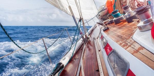 Magnettafel Pinnwand Bild XXL Panorama Segelyacht Segelboot