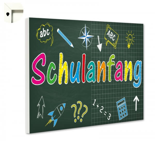 Magnettafel Pinnwand Kinder Schulanfang Schule