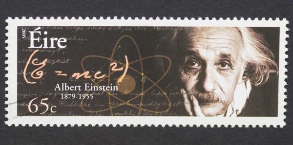 Magnettafel Pinnwand Bild XXL Panorama Einstein Briefmarke