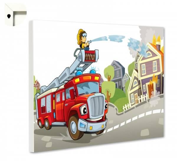 Magnettafel Pinnwand Kinder Feuerwehr