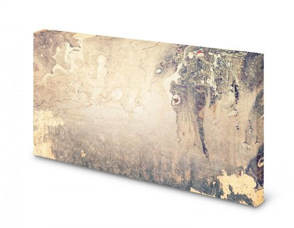 Magnettafel Pinnwand Bild Beton Betonoptik Betonwand gekantet