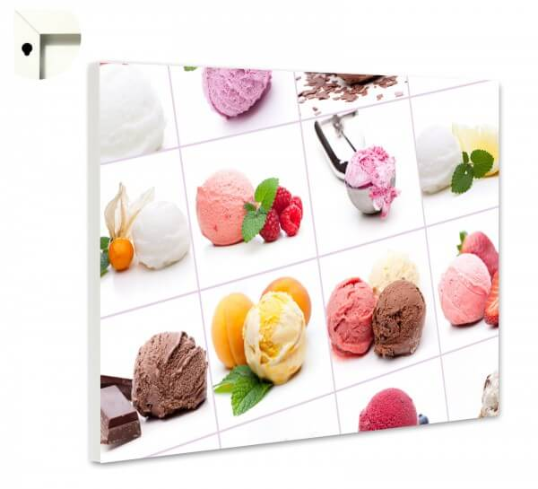 Magnettafel Pinnwand Küche Eis