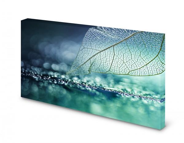 Magnettafel Pinnwand Bild Aquamarine blau grün XXL gekantet