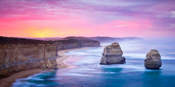 Magnettafel Pinnwand Bild Panorama Australien twelve Apostles