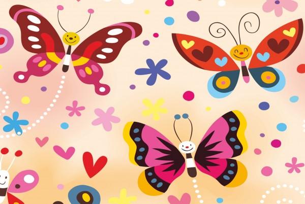 Magnettafel Pinnwand Magnetwand Schmetterlinge