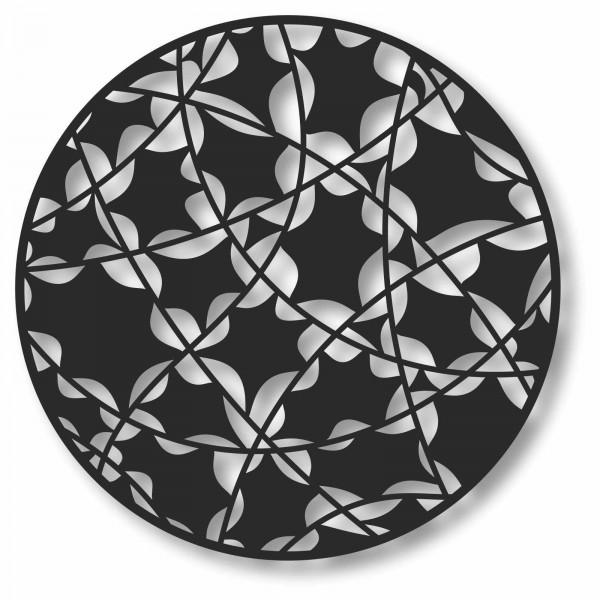 Bild Wandbild Kreisbild 3D Acryl Mobile Muster Cut-Out Abstrakt