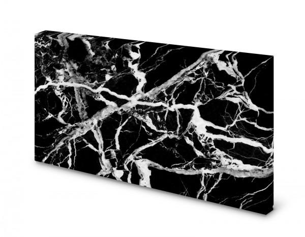 Magnettafel Pinnwand Bild Mamor schwarz XXL gekantet