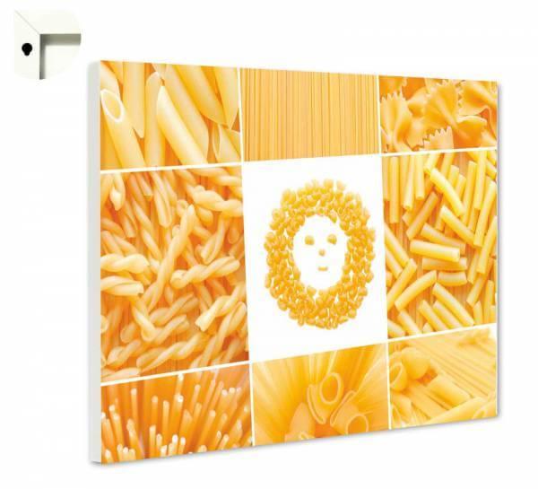 Magnettafel Pinnwand Küche Pasta-Smilie