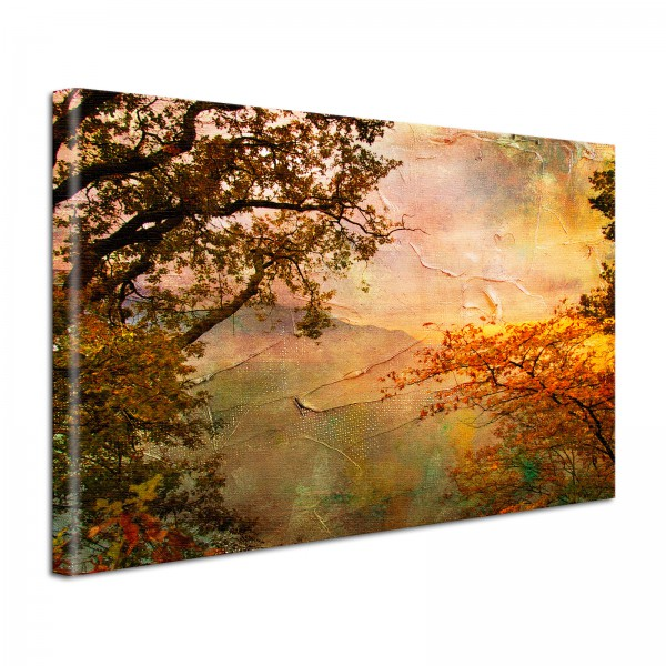 Leinwandbild Gemälde Aussichten