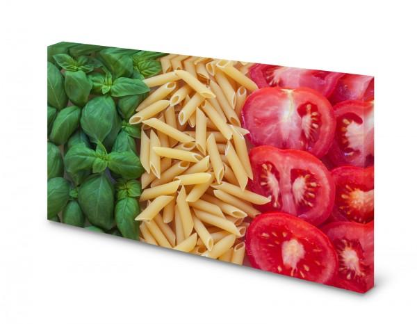 Magnettafel Pinnwand Bild Italien Küche Tricolore Italiano