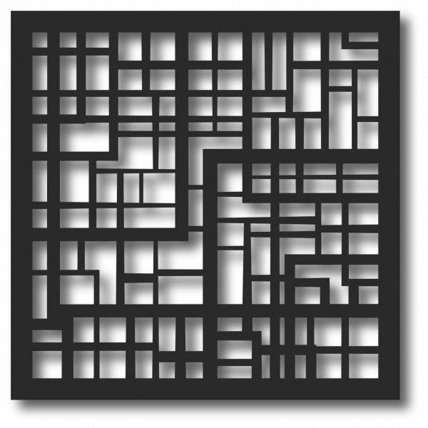 Bild Wandbild 3D Wandtattoo Acryl Mobile Gitternetz Gitter Muster