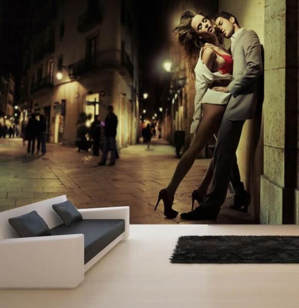 Vlies Tapete XXL Poster Fototapete Erotik Paar