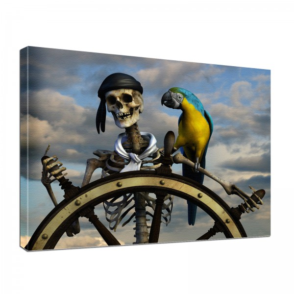 Leinwandbild Gothic Pirat