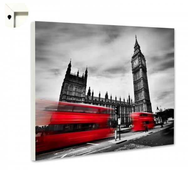 Magnettafel Pinnwand mit Motiv England London