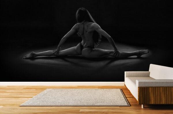 Vlies Tapete Poster Fototapete Fitness Erotik Women in Shape