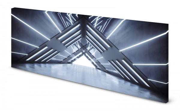 Magnettafel Pinnwand Bild 3D Effekt Raumschiff Space Metall gekantet