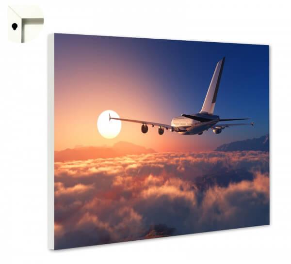 Magnettafel Pinnwand Flugzeug