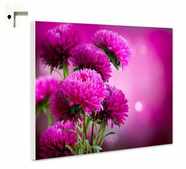 Magnettafel Pinnwand Natur Blumen in lila