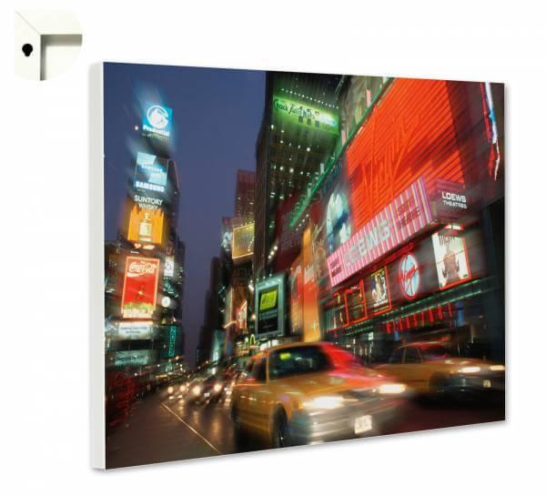 Magnettafel Pinnwand mit Motiv USA New York Times Square