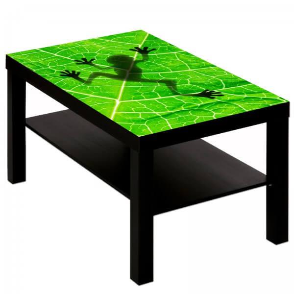 Couchtisch Tisch mit Motiv Tiere Frosch 2