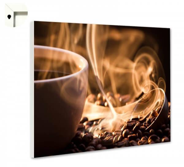 Magnettafel Pinnwand mit Motiv Küche Kaffee