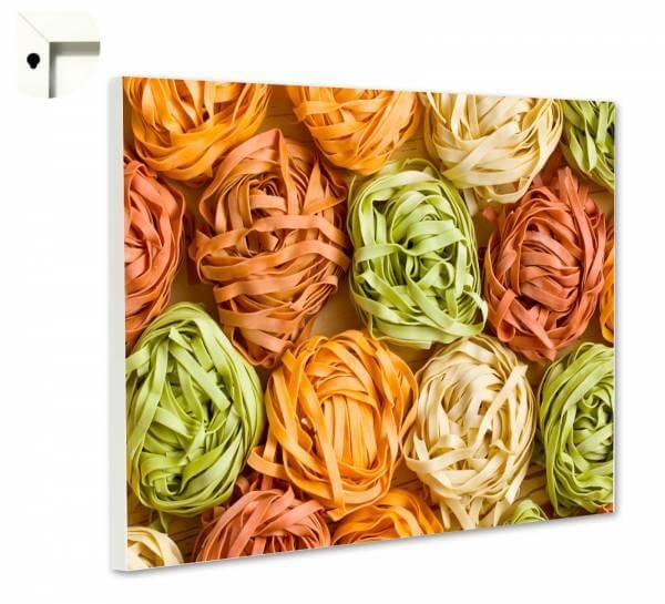 Magnettafel Pinnwand Küche Bunte Pasta