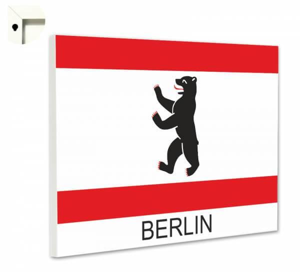 Magnettafel Pinnwand mit Motiv Berlin Wappen