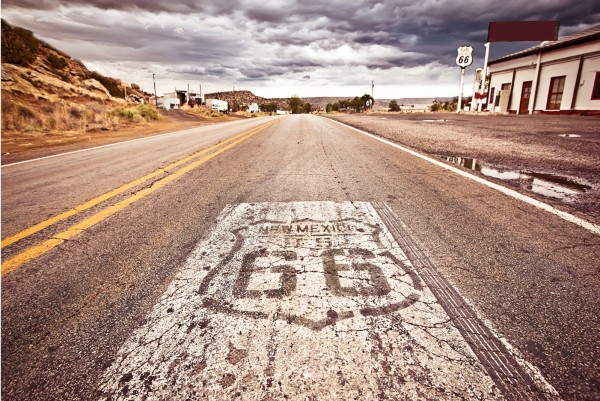 Magnettafel Pinnwand XXL Bild USA Route 66