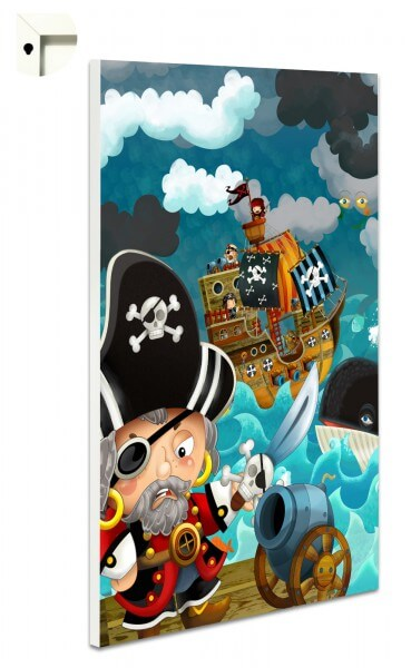 Magnettafel Pinnwand Kinder Pirat