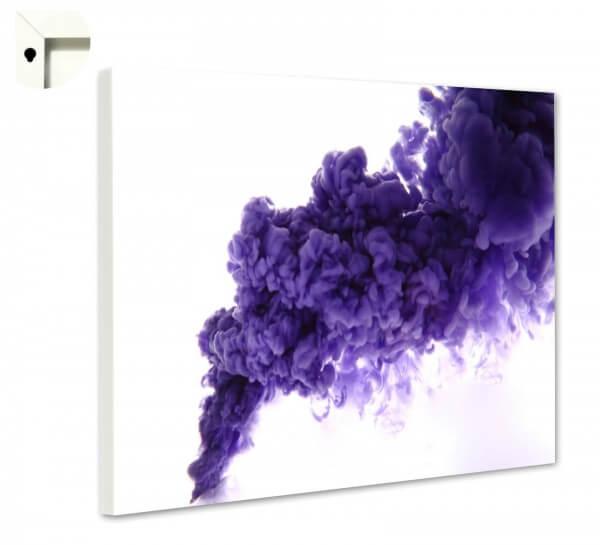 Magnettafel Pinnwand Muster in lila und weiß