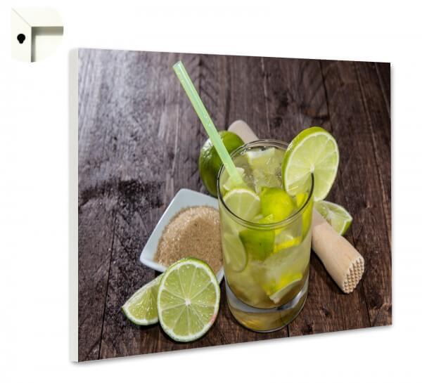 Magnettafel Pinnwand Motiv Bar Cocktail Caipirinha