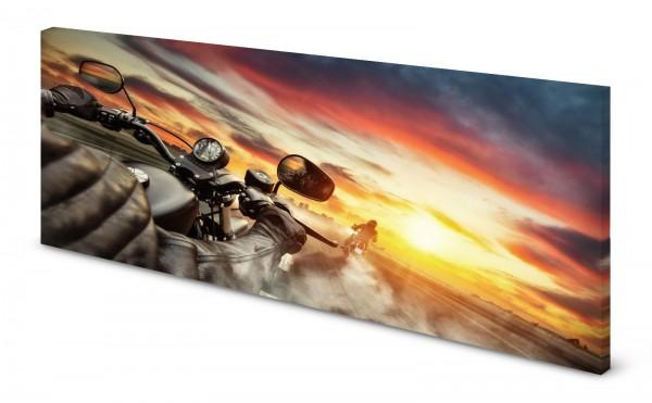 Magnettafel Pinnwand Bild Bike Motorrad Tour gekantet
