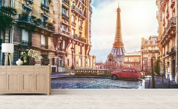 Vlies Tapete XXL Poster Fototapete Paris Frankreich Eiffelturm