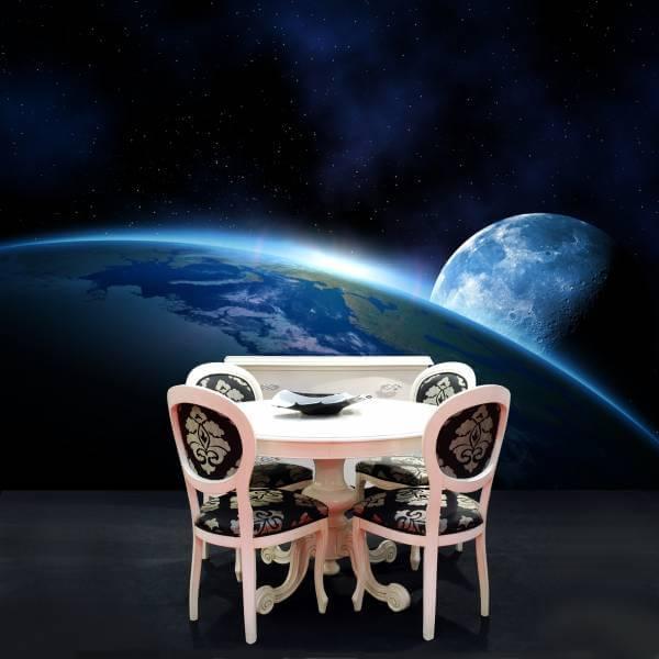 Poster Fototapete Fantasy Planet Erde