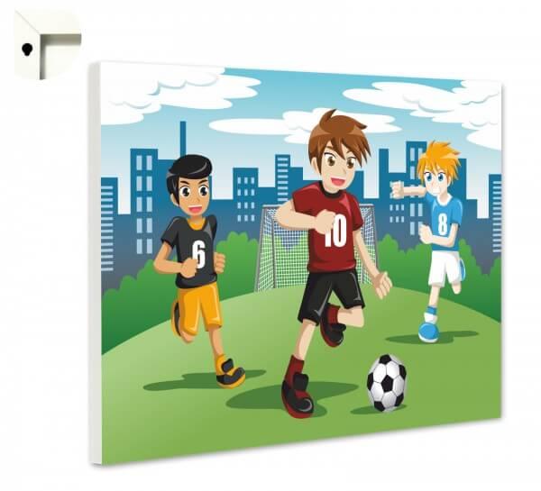 Magnettafel Pinnwand Kinder Fußball Jungs