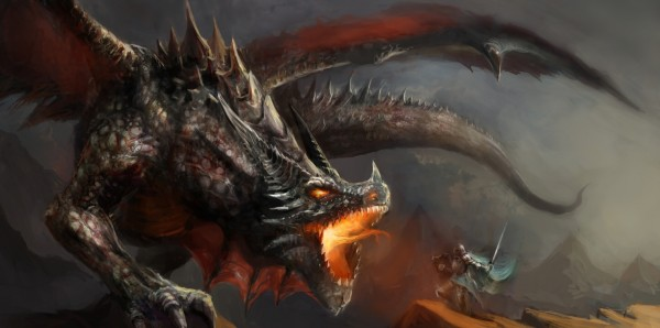Magnettafel Pinnwand Bild XXL Panorama Fantasy Drache Ritter