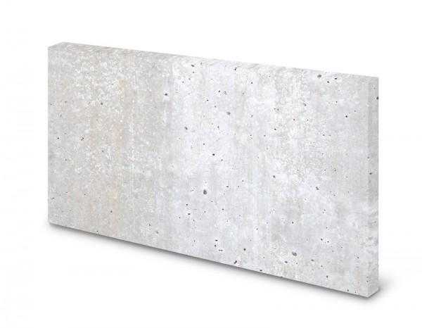 Magnettafel Pinnwand Bild Beton hell Betonoptik XXL gekantet