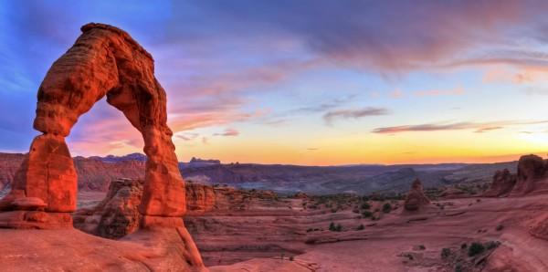 Magnettafel Pinnwand Bild XXL Wüste Felsen Landschaft rot