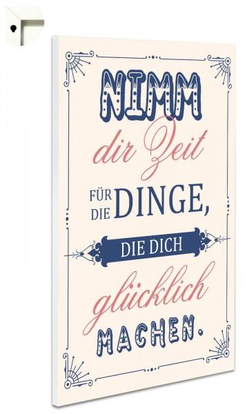 Magnettafel Pinnwand Spruch Nostalgie Vintage Weisheiten