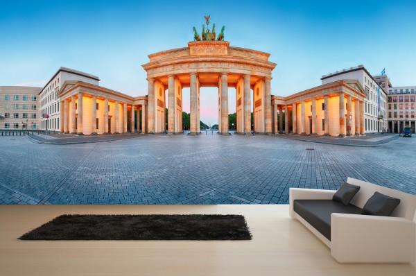 Vlies Tapete XXL Poster Fototapete Berlin Brandenburger Tor