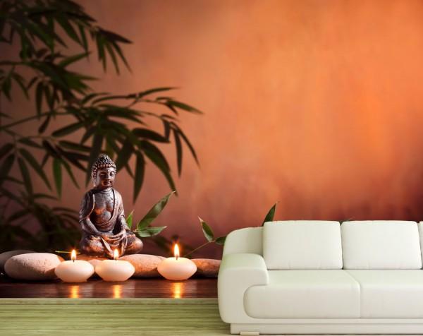 Poster Fototapete Mystik Buddha